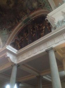 Stiftskirche große Orgel